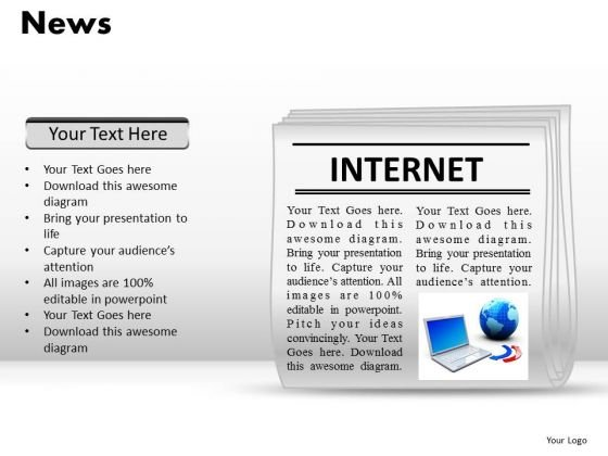 Newspaper Layout Template Newspaper Layout Template Business Plan - newspaper powerpoint template