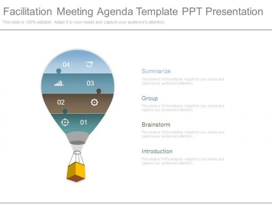 Facilitation Meeting Agenda Template Ppt Presentation - PowerPoint - meeting agenda template powerpoint