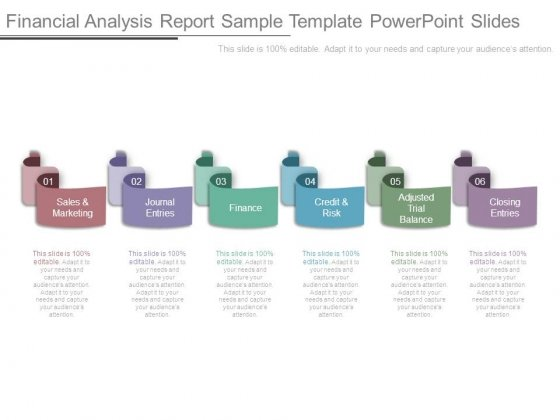 Financial Analysis Report Sample Template Powerpoint Slides - Sample Analysis Report