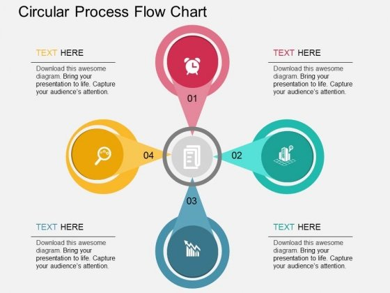 Circular PowerPoint templates, Slides and Graphics