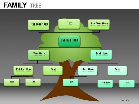 Family Tree Diagram PowerPoint Slides Download - PowerPoint Templates