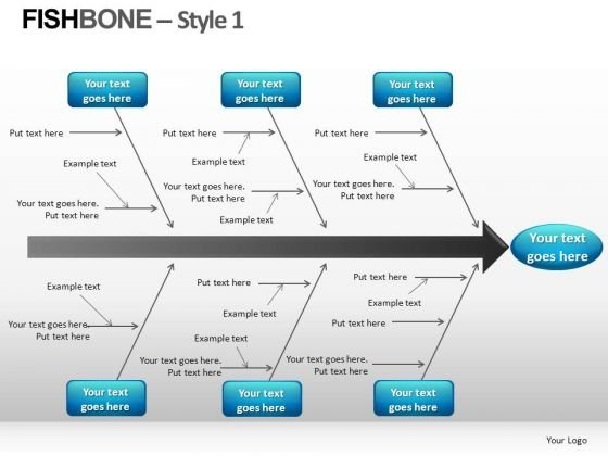 Fishbone PowerPoint templates, Slides and Graphics