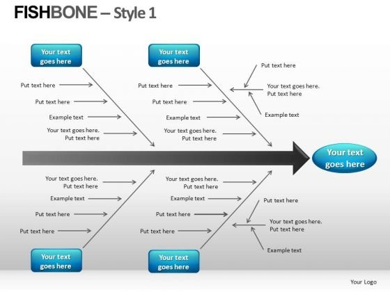 Fishbone PowerPoint templates, Slides and Graphics - fishbone template powerpoint