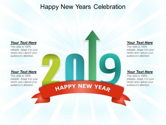 Happy New Years Celebration Ppt PowerPoint Presentation Portfolio