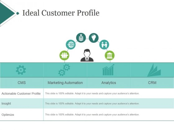 Ideal Customer Profile Template 1 Ppt PowerPoint Presentation - Customer Profile Template