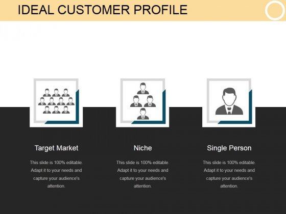 Ideal Customer Profile Template 2 Ppt PowerPoint Presentation Design - Customer Profile Template