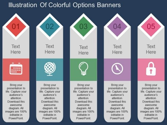 Banners PowerPoint templates, Slides and Graphics