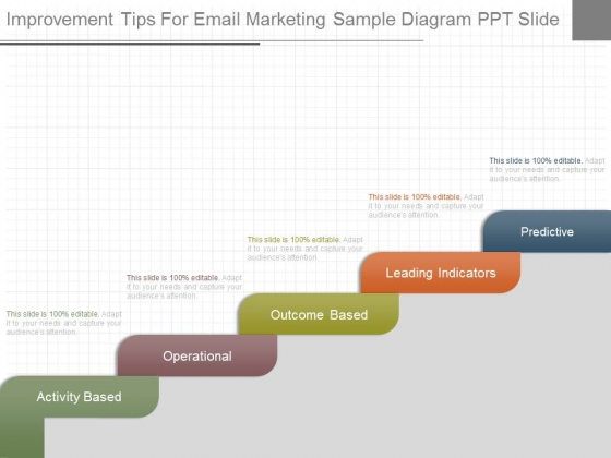 Improvement Tips For Email Marketing Sample Diagram Ppt Slide