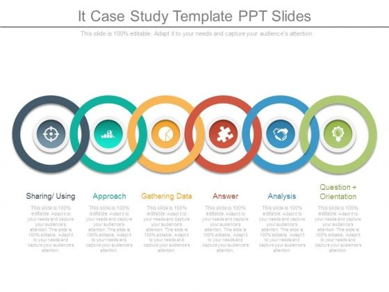 It Case Study Template Ppt Slides - PowerPoint Templates