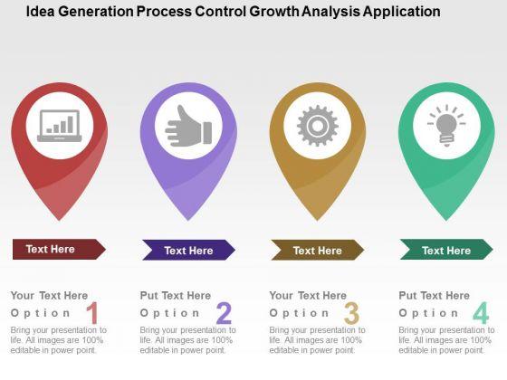 Idea Generation Process Control Growth Analysis Application