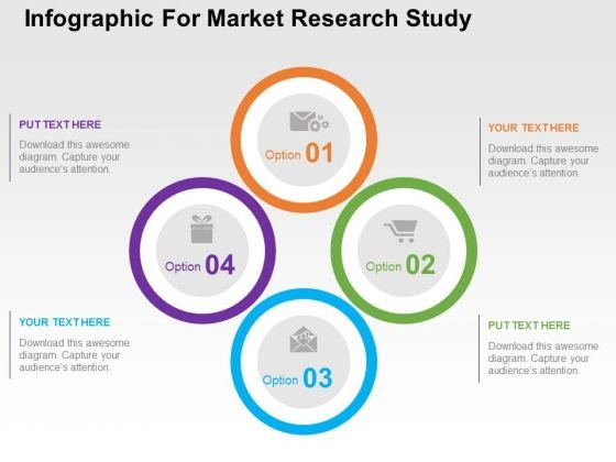 Infographic For Market Research Study PowerPoint Template - powerpoint infographic template