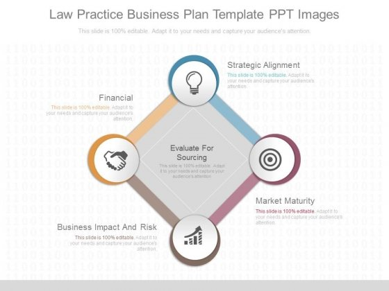 Law Practice Business Plan Template Ppt Images - PowerPoint Templates