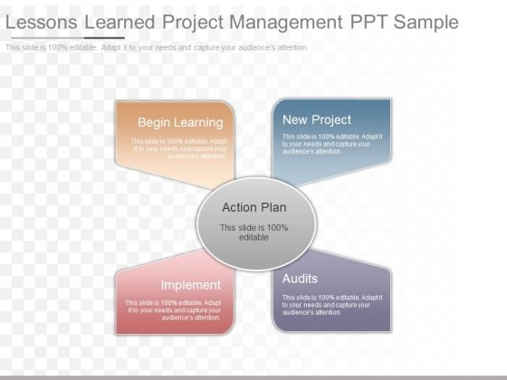 Lessons Learned Project Management Ppt Sample - PowerPoint Templates