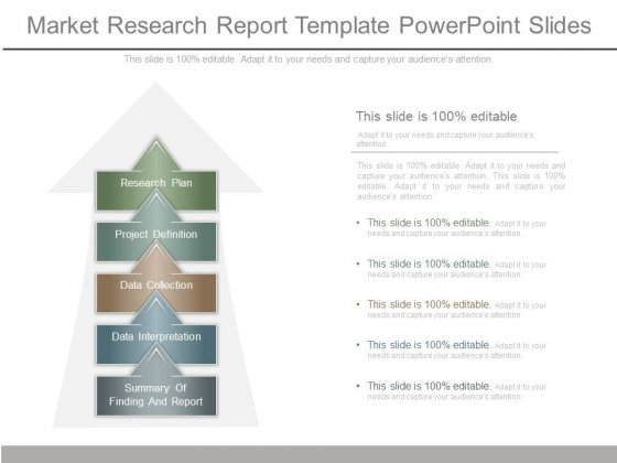 Market Research Report Template Powerpoint Slides - PowerPoint Templates