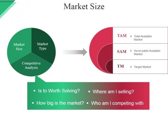 Market Size Ppt PowerPoint Presentation Microsoft - PowerPoint Templates