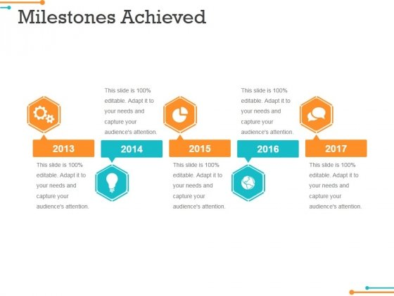 Milestones Achieved Template 2 Ppt PowerPoint Presentation - powerpoint infographic template