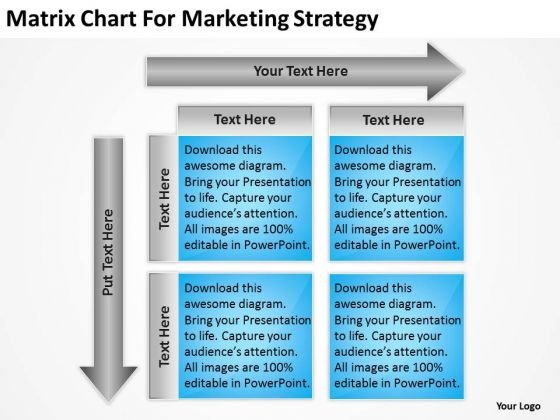 Matrix Chart For Marketing Strategy Ppt Business Proposal Examples - powerpoint proposal template