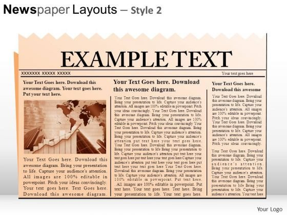Newspaper PowerPoint templates, Slides and Graphics