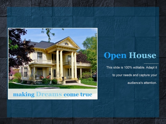 Open House Ppt PowerPoint Presentation Example File - PowerPoint