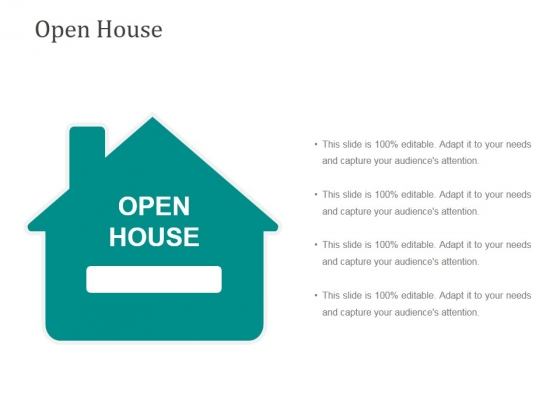 Open House Template 1 Ppt PowerPoint Presentation Images