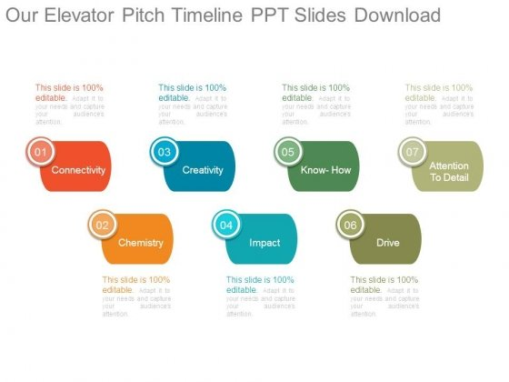 Our Elevator Pitch Timeline Ppt Slides Download - PowerPoint Templates