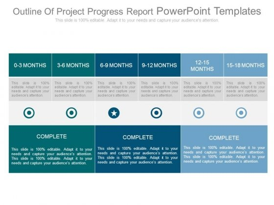 Progress report PowerPoint templates, Slides and Graphics