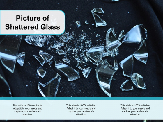 Picture Of Shattered Glass Ppt PowerPoint Presentation Infographic