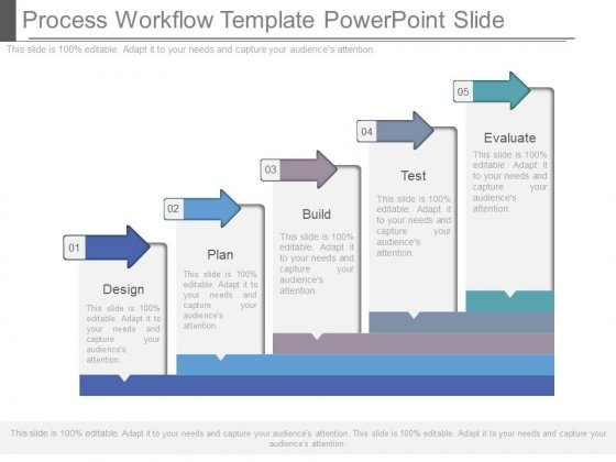 Process Workflow Template Powerpoint Slide - PowerPoint Templates