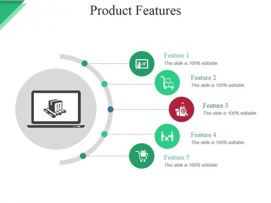 Product Features Ppt PowerPoint Presentation Infographics Microsoft