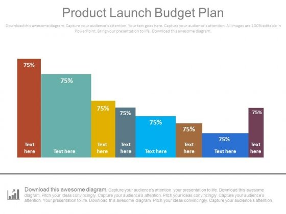 Product Launch Budget Plan Bar Graph Ppt Slides - PowerPoint Templates - budget plan