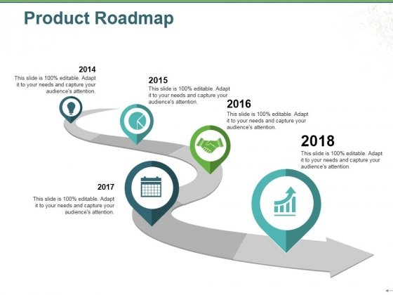 Product Roadmap Ppt PowerPoint Presentation Icon Slides - PowerPoint