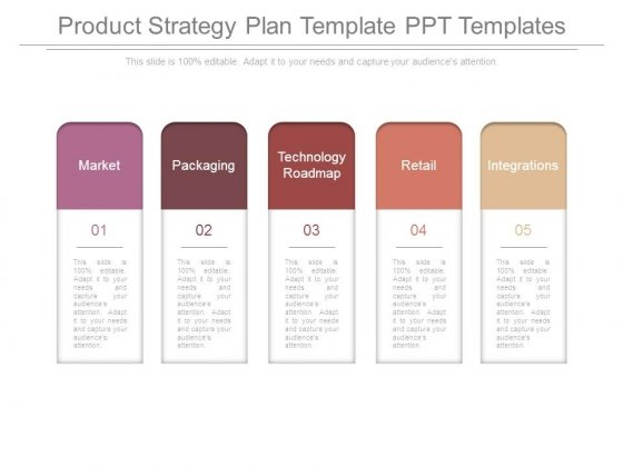 Product Strategy Plan Template Ppt Templates - PowerPoint Templates - product plan template
