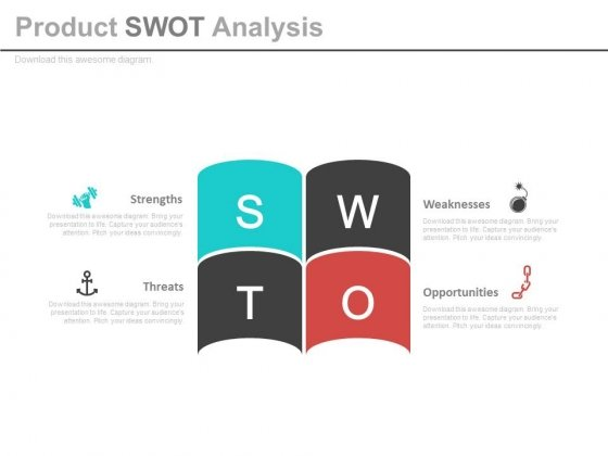 Product Swot Analysis Ppt Slides - PowerPoint Templates
