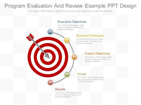 Program Evaluation And Review Example Ppt Design - PowerPoint Templates - Program Evaluation