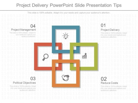 Project Delivery Powerpoint Slide Presentation Tips - PowerPoint - Presentation Project