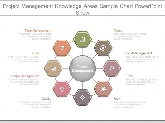 Project Management Knowledge Areas Sample Chart Powerpoint Show