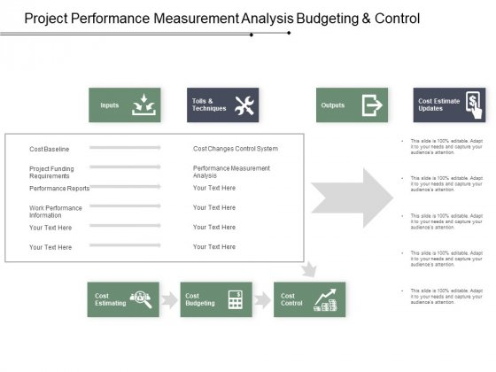 Project Performance Measurement Analysis Budgeting And Control Ppt