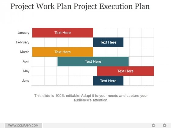 Project plan PowerPoint templates, Slides and Graphics - Presentation Project