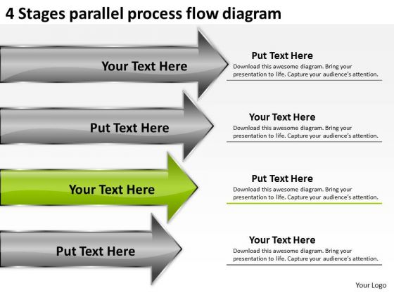 Parallel Process Flow Diagram Business Plan Executive Summary - business executive summary template