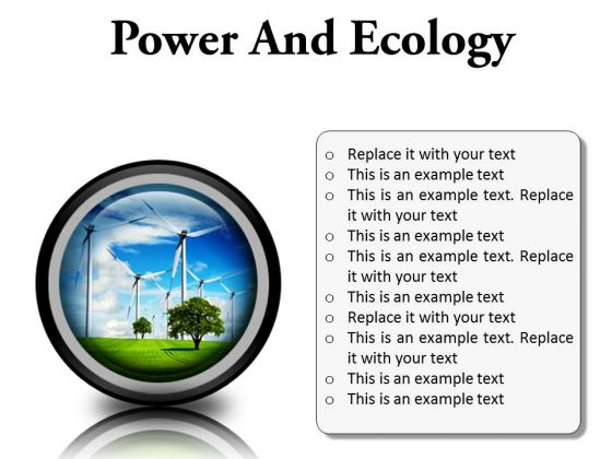 Power And Ecology Nature PowerPoint Presentation Slides Cc