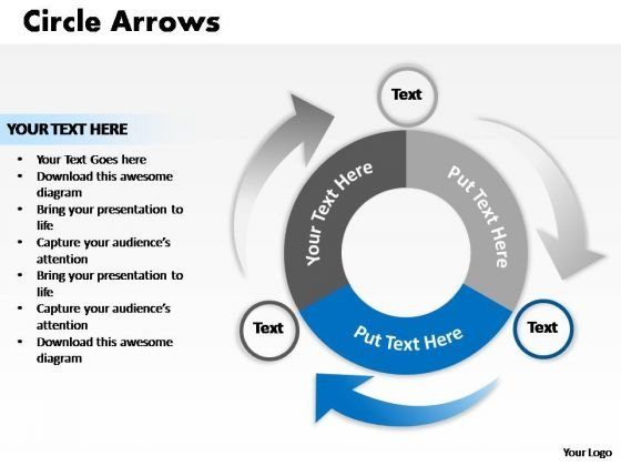 PowerPoint Design Image Circle Process Ppt Template - PowerPoint