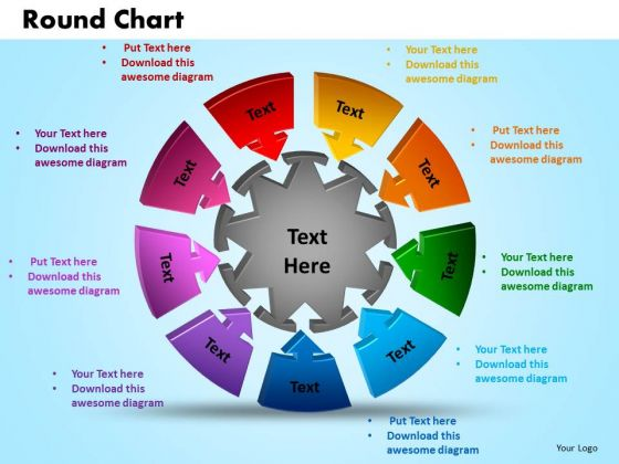 PowerPoint Presentation Round Chart Sales Ppt Template - sales presentation