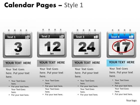 Agenda PowerPoint templates, Slides and Graphics - sample power point calendar
