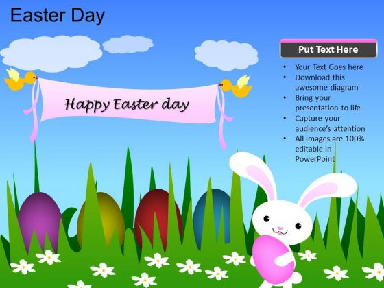 PowerPoint Template Church Easter Day Ppt Process - PowerPoint Templates