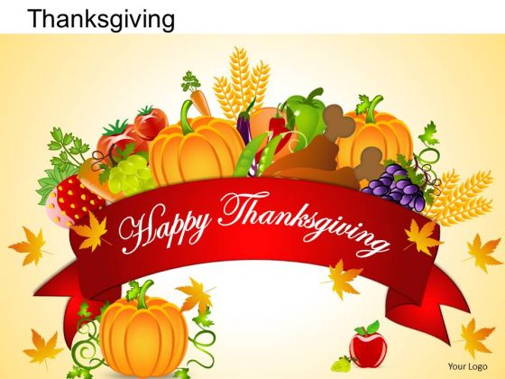 PowerPoint Templates Happy Thanksgiving Ppt Slides - PowerPoint