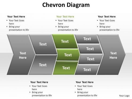 Chevron PowerPoint templates, Slides and Graphics