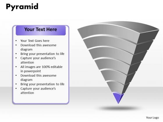 Ppt 25000 Pyramid PowerPoint Template Hierarchy Of Needs Model