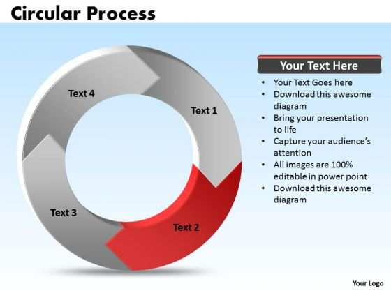 Ppt 4 Stages Process Cycle Cause And Effect Diagram PowerPoint