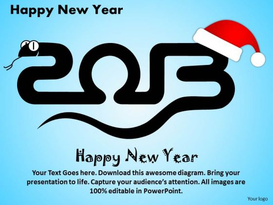 Ppt Cards And Dices Happy New Year Business Strategy PowerPoint
