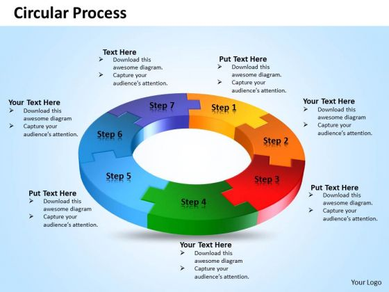 Circle Process Flow Diagram Template - Block And Schematic Diagrams \u2022